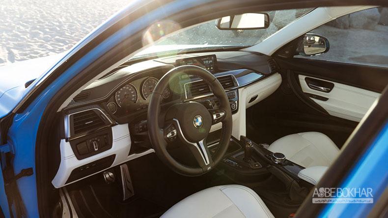 نسخه ویژه بی ام و M3 با رنگ آبی ریویرا