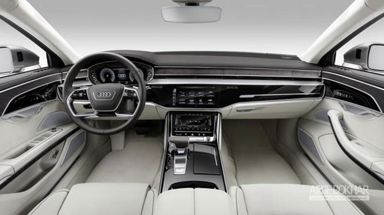 رقیب جدی بنز S کلاس نسل جدید آئودی A8 معرفی شد