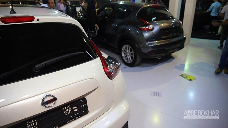 ایمن ترین خودروهای نمایشگاه البرز در غرفه نیسان