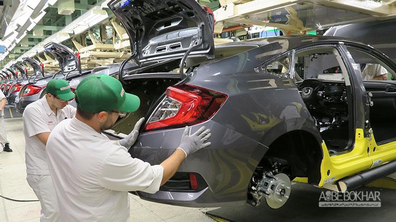 فراخوان بیش از ۲میلیون خودرو honda