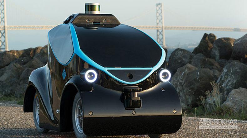رباتهای خودران به یاری شهربانی دبی می آیند