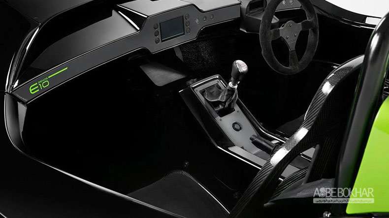 زنوس از خودروی E10 رونمایی میکند