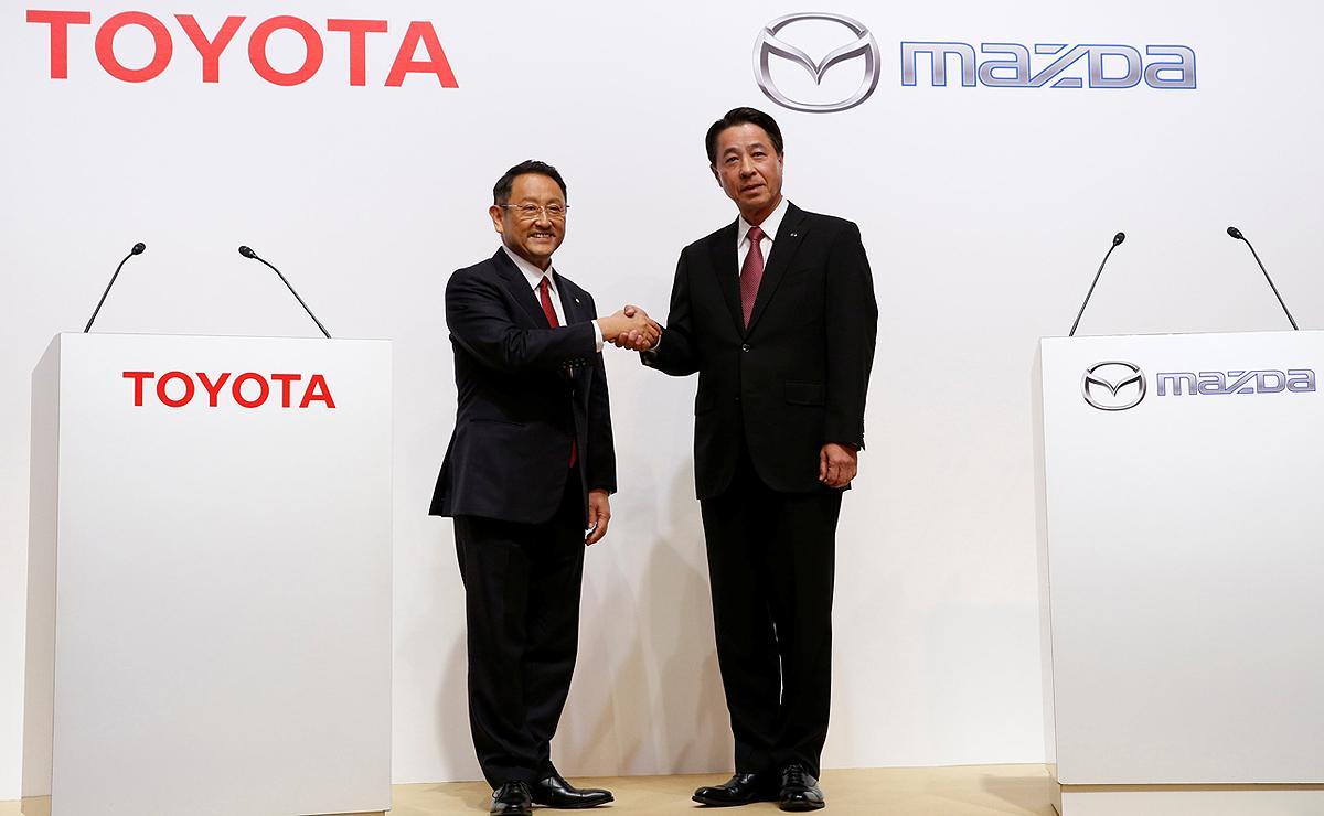 سرمایهگذاری مشترک تویوتا و مزدا جهت تولید خودرو در آمریکا