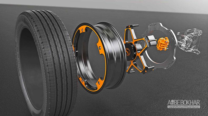کانتیننتال از سیستم ترمز جدیدی برای خودروهای الکتریکی رونمایی کرد