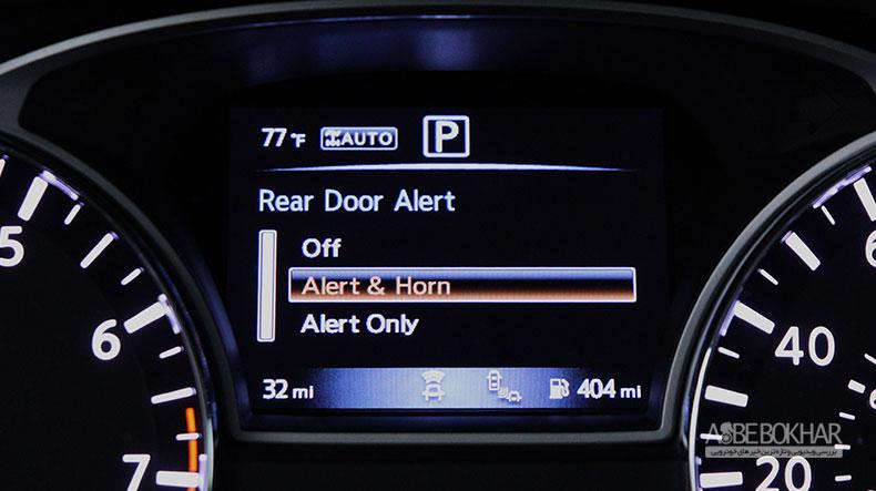 ابتکار نیسان، در جلوگیری از جا گذاشتن کودک در خودرو