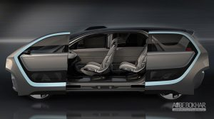 فیات کرایسلر برای ساخت خودروی خودران، با اینتل و بی ام و همکاری میکند