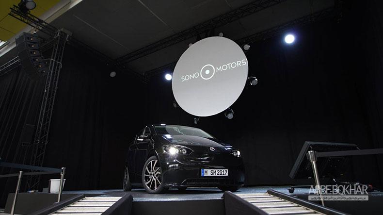سایون، نخستین خودروی خورشیدی جهان