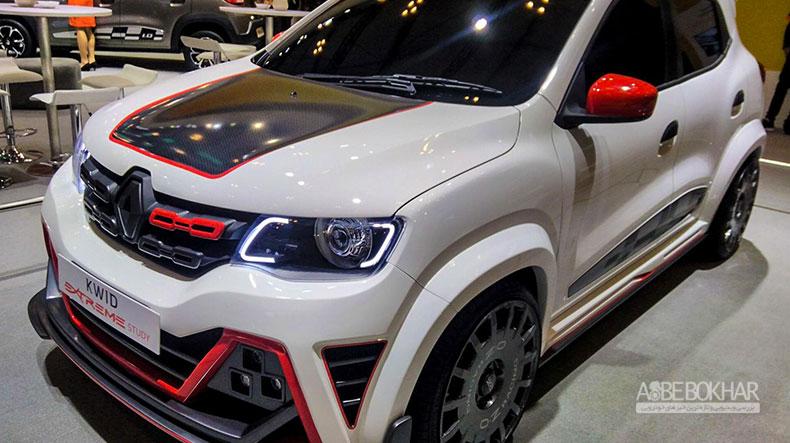 درخشش کانسپت جدید رنو کوئید در نمایشگاه بینالملی خودروی اندونزی!