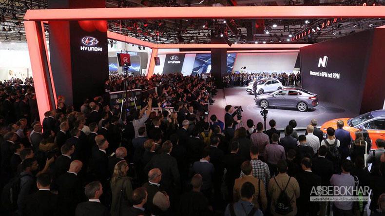 رونمایی هیوندای از نسل بعدی پیشرانه هایش در نمایشگاه خودروی فرانکفورت