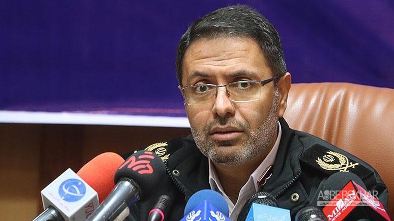 بازداشت خودروهای مسافرکش با پلاک شهرستان در تهران