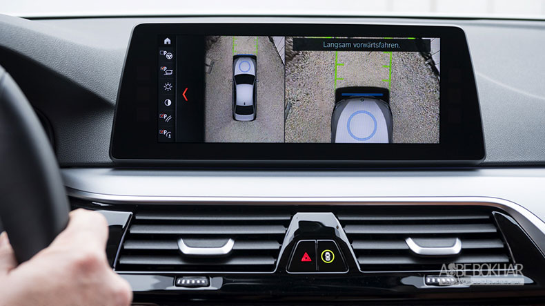 فناوری شارژ بیسیم بی ام و برای خودروی 530e