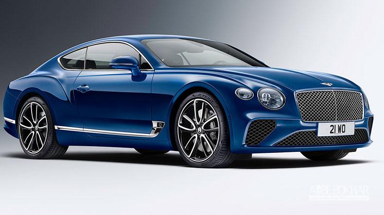 نسل جدید بنتلی کانتیننتال GT، معرفی شد