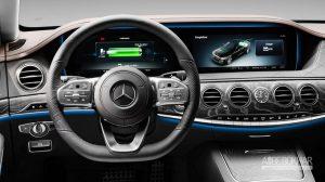 مرسدس S560e سوپرلوکس هیبریدی معرفی شد