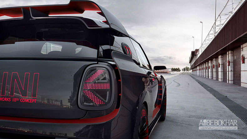 خودروی مفهومی مینی جان کوپر وُرکز GP رونمایی شد