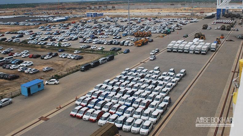 رشد واردات خودرو طی پنج ماهه سال جاری