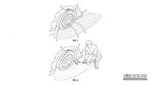 اختراع جدید فورد برای هشدار وضعیت باد تایرها