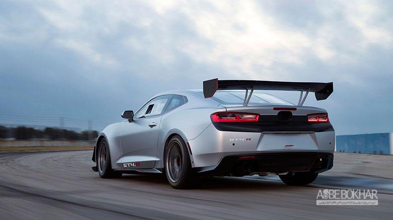 نسخهی مسابقهای از کامارو GT4.R، آماده تولید شد