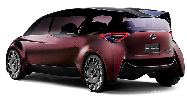 رونمایی تویوتا از دو طرح مفهومی برای نمایشگاه خودروی توکیو