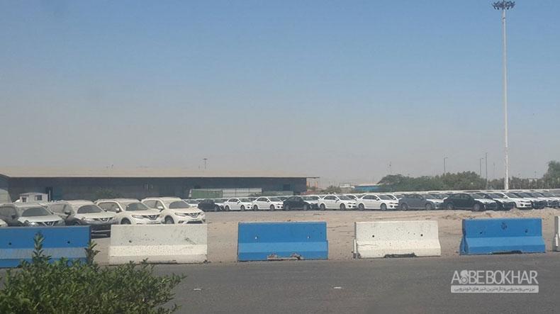 بیش از ۷۰۰۰ خودروی خارجی در انبارهای گمرک