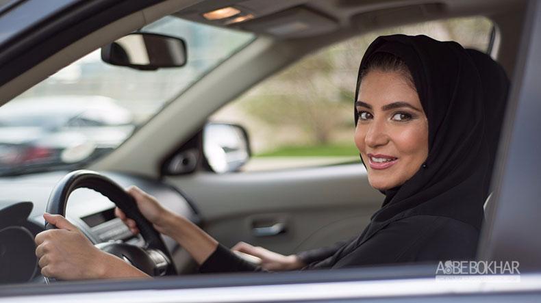 دندان تیزی خودروسازان خارج برای ۹ میلیون زن سعودی