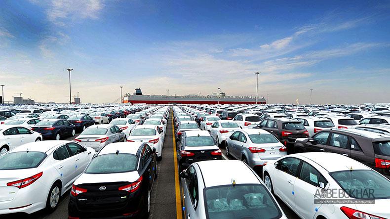 حباب قیمتی خودروهای وارداتی در بازار