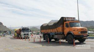 خودروهای سنگین در مبادی ورودی تهران وزن میشوند