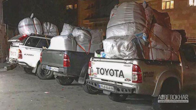 گروه های آفرودی هم به جمع کمک کنندگان به زلزله زدگان کرمانشاه شتافتند
