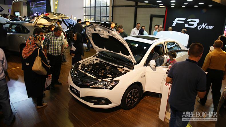 ی وای دی دست پر به نمایشگاه خودرو تهران می آید