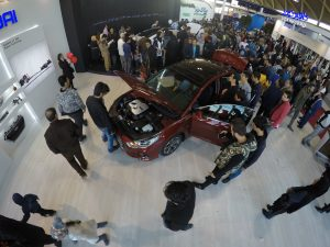 گزارش تصویری از روز اول نمایشگاه خودرو تهران