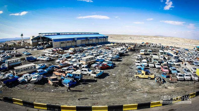 اسقاط 25 هزار خودرو در شهریور ماه سال گذشته