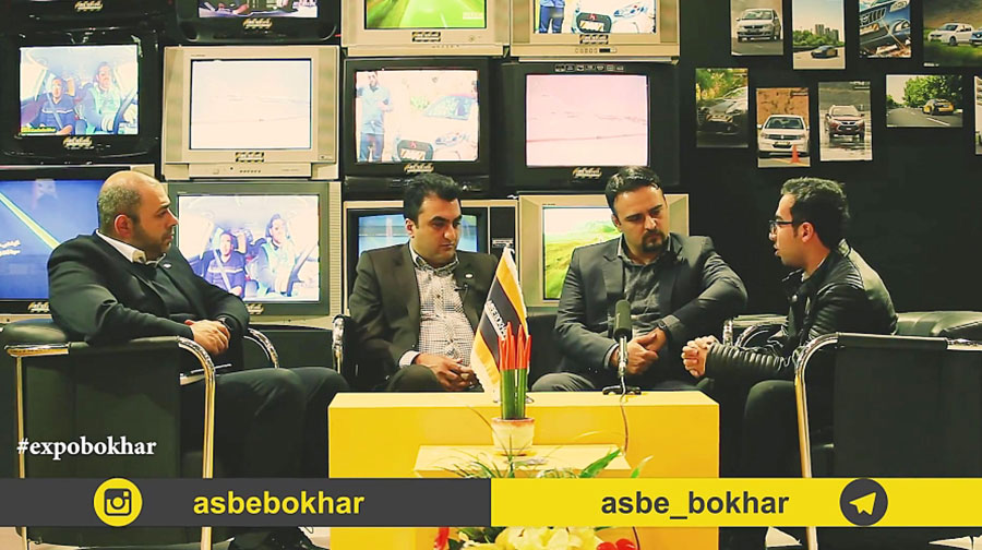 اکسپو بخار 13 / گفتگو با مدیران ارشد خودروسازی کارمانیا