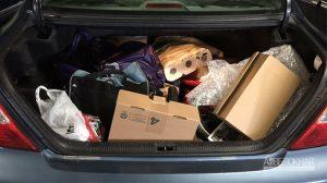 تاثیر بار صندوق عقب بر مصرف سوخت خودرو