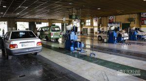 مردودی روزانه حدود ۳۰۰۰ خودرو در مراکز معاینه فنی