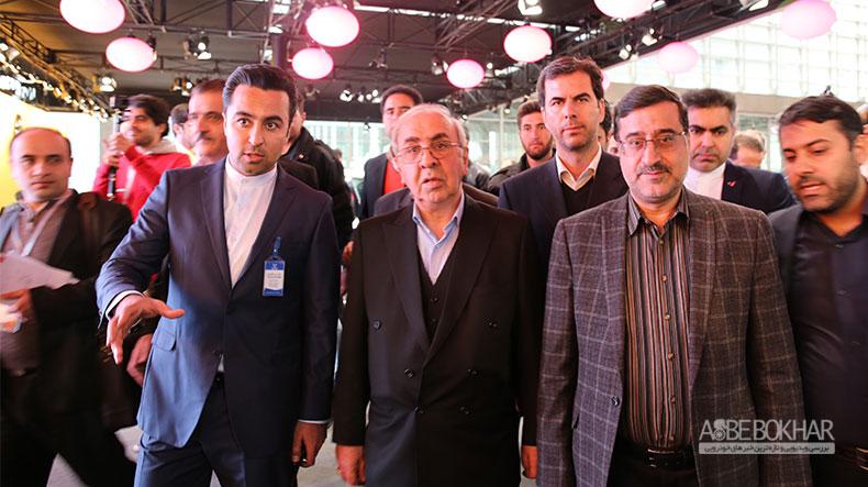 افتتاح دومین نمایشگاه بین المللی تهران