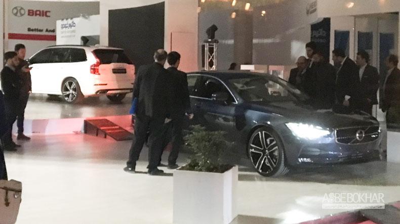 S90 از امروز در غرفه داتيس خودرو