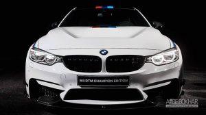 درگ تماشایی بی ام و M4 DTM و مرسدس AMG GT R + ویدیو