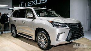 لکسوس با LX۵۷۰ به نمایشگاه خودرو لسآنجلس آمد
