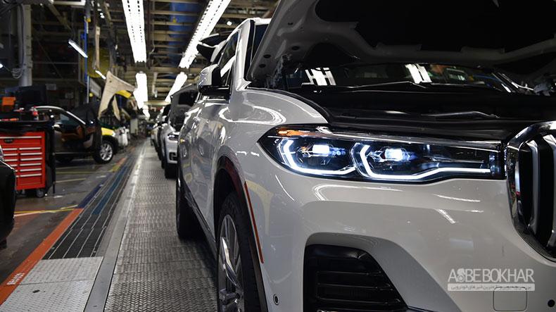 انتشار مشخصات BMW X7 xDrive50i در فضای مجازی