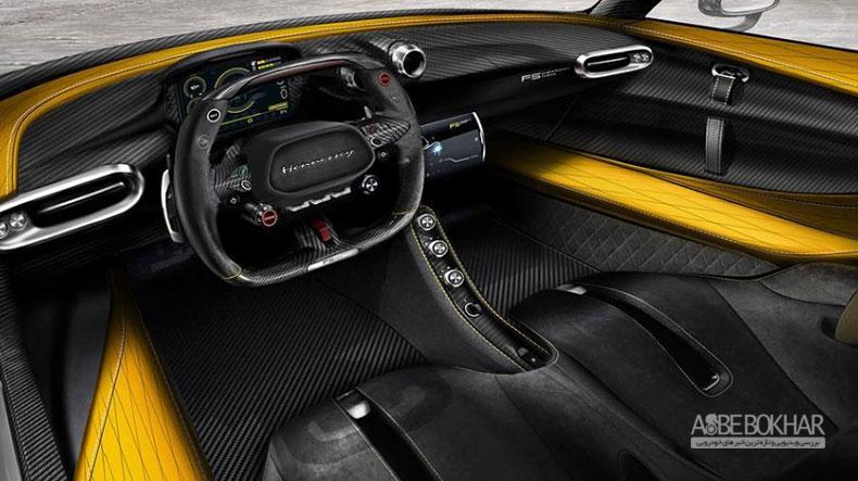 هنسی برخی از تصاویر مربوط به کابین سوپر اتومبیل ونوم F5 را منتشر کرد