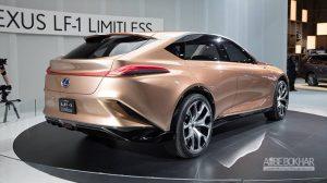 مدل مفهومی لکسوس LF-1 رونمایی شد + ویدیو