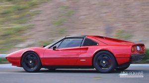 تنها فراری الکتریکی دنیا 308 GTS مدل ۱۹۷۶