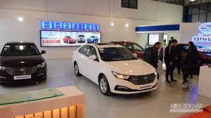 حضور گروه بهمن در نمایشگاه خودرو مازندران