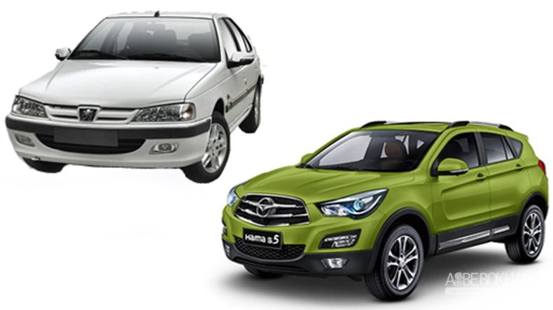 قیمت دو محصول جدید ایران خودرو اعلام شد