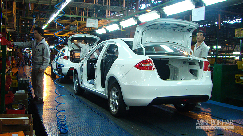 تولید سه خودرو در کرمان موتور متوقف شد