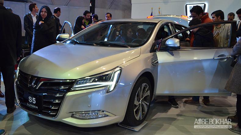 معرفی ویدیویی لوکسژن S5 در نمایشگاه خودرو اصفهان