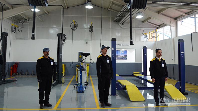 """افتتاحیه مجهز و پیشرفته ترین تعمیرگاه نگین خودرو """"فراتر از استانداردهای جهانی رنو"""""""