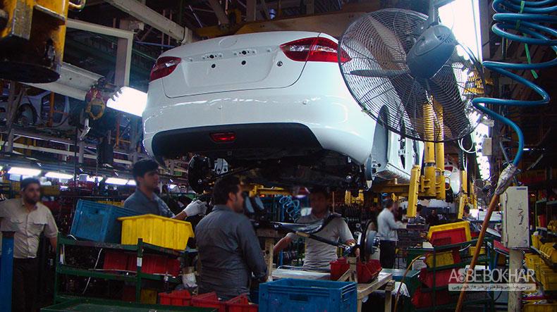 تولید ۵ خودروی چینی در ایران متوقف شد