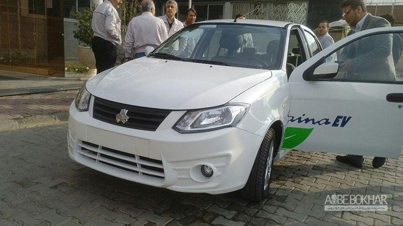 خودروی برقی سایپا معرفی شد