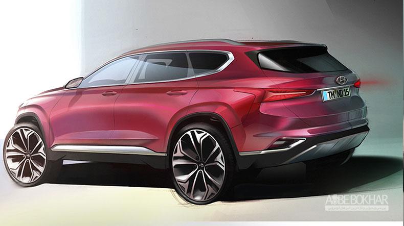 نسل جدید هیوندای سانتافه، مدل ۲۰۱۹