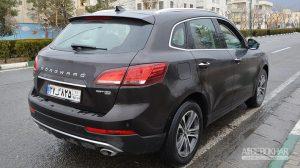 اولین تجربه رانندگی با بورگوارد BX7 در ایران
